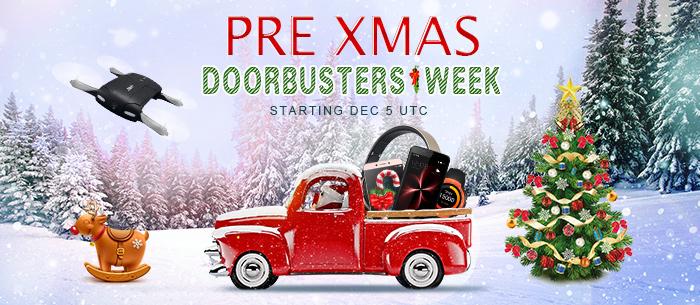 PRE XMAS DOORBUSTERS WEEK