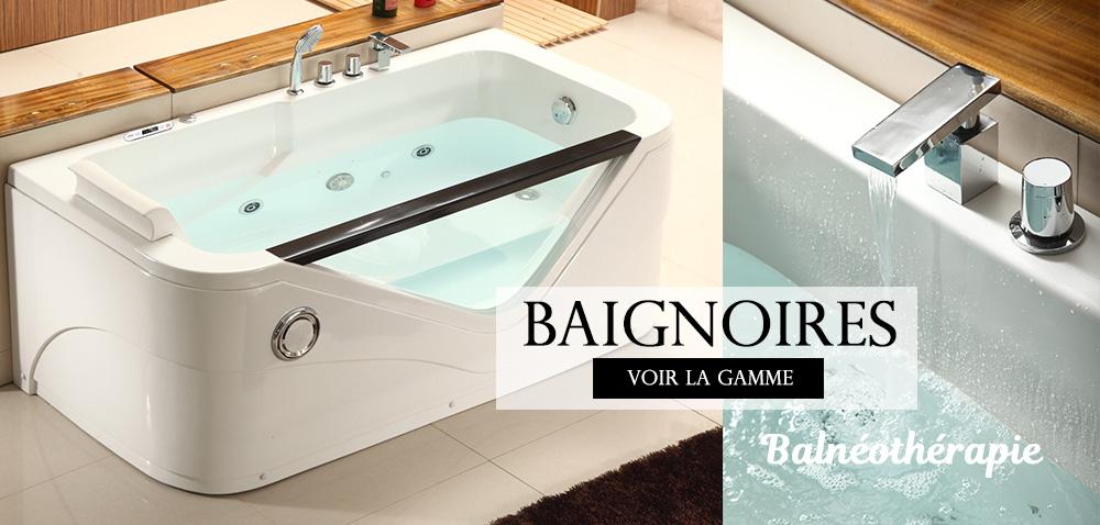 Baignoire Balnéo