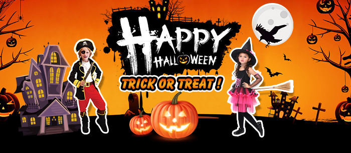 UP TO 48% OFF Happy Halloween,Expires:Oct.05@TOMTOP.com