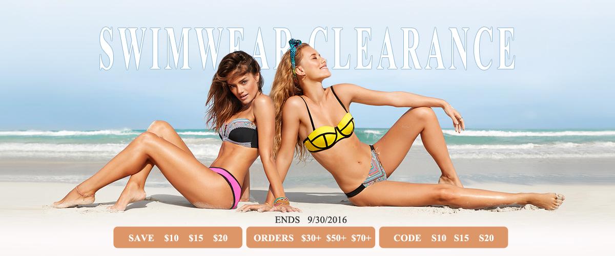 swimwear clearance