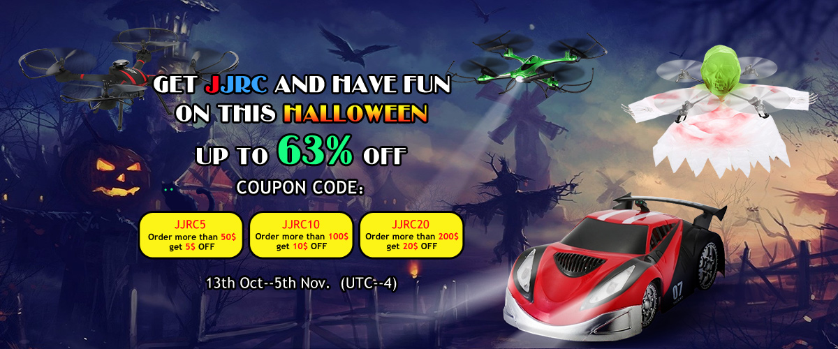 Get JJRC and Have Fun On this Halloween