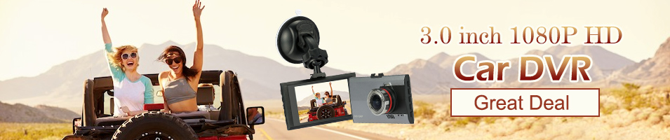 3.0 inch 1080P HD Car DVR Great Deal