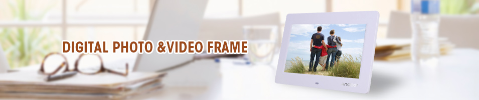 DIGITAL PHOTO &VIDEO FRAME