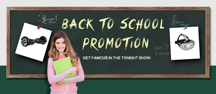 Up to 58% OFF Back To School Promotion,Expires:Aug.30@TOMTOP.com