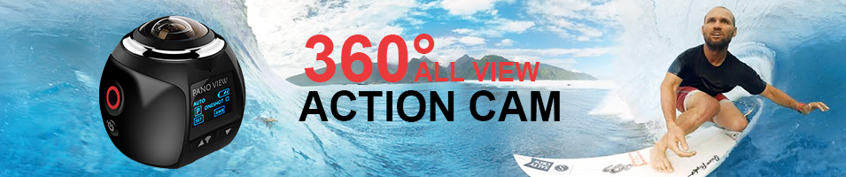 """""""360 ALL VIEW ACTION CAM"""""""