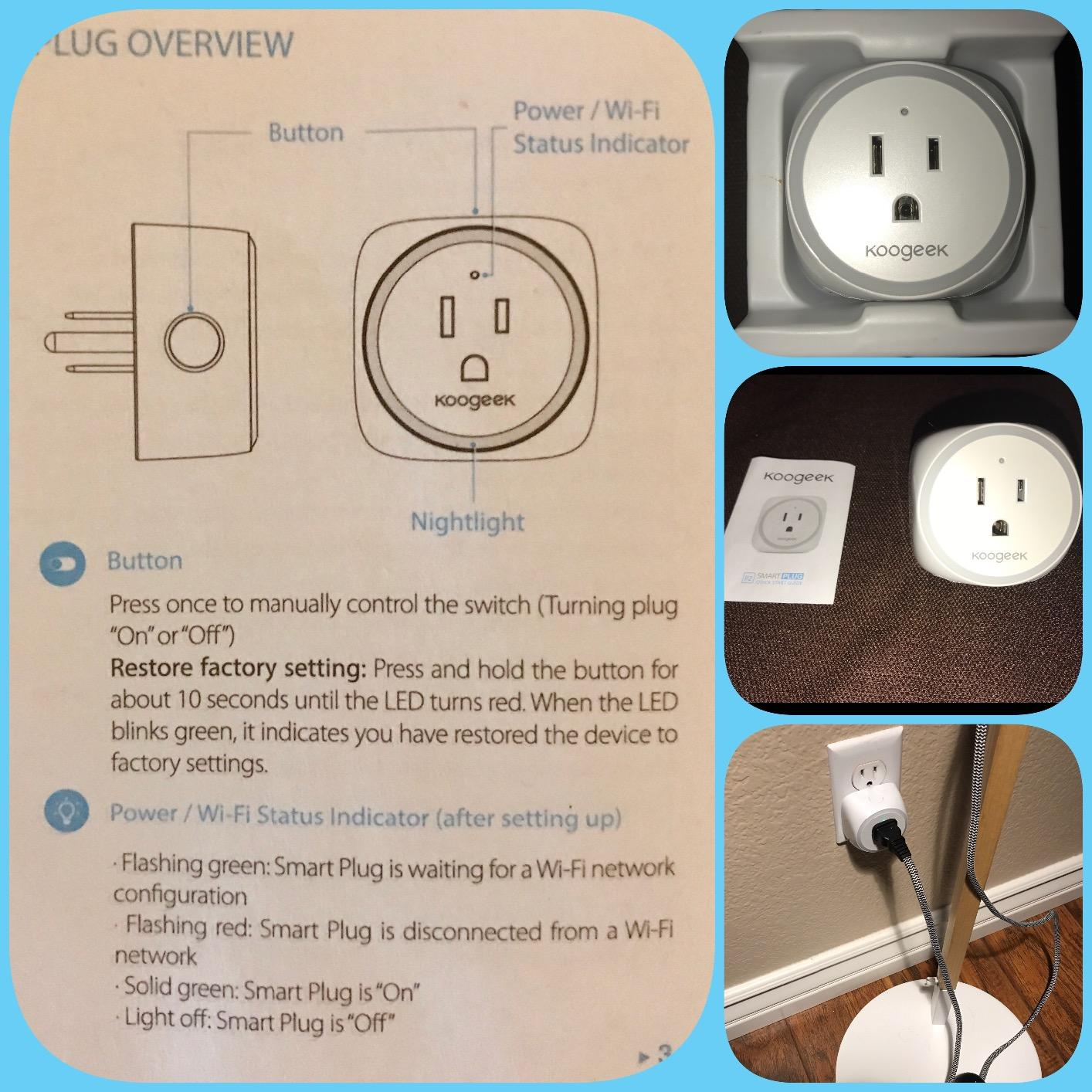 Koogeek Wi Fi Enabled Improved Smart Plug For Apple Homekit And Can You Hook Up A Single Pole Dimmer Switch To Three Way Kill They Work With Each Other As Accessories All On The Home App 5 Stars Great Little Product 2 In 1 Dimmable Nightlight