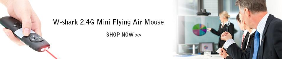 W-shark 2.4G Mini Flying Air Mouse