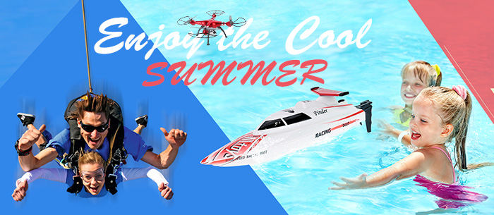 Up to 61% OFF RC Enjoy the Cool SUMMER,Expires:Jul.,Free shipping@TOMTOP.com
