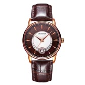 OCHSTIN Brand Luxury Genuine Leather Quartz Casual Women