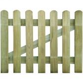 Wooden Garden Gate 100 x 80 cm