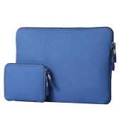 "13"" Portable Slim Carrying Notebook Sleeve Bag Case Cover Combo for MacBook/MacBook Air/Pro Laptop PC Ultrabook Tablet"