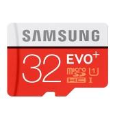 Samsung Memory 32GB EVO Plus MicroSDHC 80MB/s UHS-I (U1) Class 10 TF Flash Memory Card MB-MC32D/CN High Speed for Phone Tablet Cemara