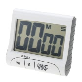 Magnetic Electronic Digital Big Screen Kitchen Cooking Timer Count Down/Up 99min59s Loud Alarm Clock