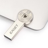Eaget K80 USB3.0 Chinese Ancient Coin 64G Flash Pen Drive USB Disk Metal for Laptop Desktop