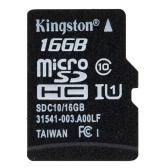 Kingston Class 10 8GB 16GB 32GB 64GB MicroSD TF Flash Memory Card 48MB/s Maximal Speed with Card Adapter