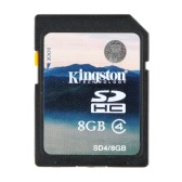 Kingston Class 4 32GB SDHC Memory Card Minimal Speed 4M/s for Cell Phone Camera HD Video