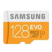 Genuine Original SAMSUNG MicroSDXC UHS-I Class 10 128GB 48MB/s High Speed TF Flash Memory Card for Cell Phone Tablet Camera