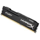 Kingston HyperX FURY 8GB Desktop Memory 1866MHz DDR3 CL11 SDRAM 1.35V Low Voltage 240-Pin HX318LC11FB/8