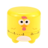 Kitchen Cooking Timer Mechanical Drive Countdown 60-Minute Loud Alarm Clock Cartoon Animal Shape