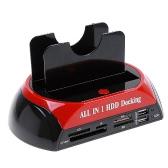 "2.5"" 3.5"" SATA/IDE HDD 2-Dock Docking Station e-SATA Hub"