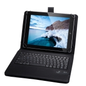 Universal Detachable Wireless Bluetooth Keyboard Leather Case Cover for 9