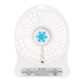 Portable Mini USB Cooling Fan Rechargeable DC 5V for Desk Laptop Notebook Computer Adjustable Speed