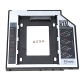 """9.5mm Universal 2nd Hard Disk Drive Caddy SATA 2.5"""" HDD SSD Case Enclosure for Laptop CD/DVD-ROM"""