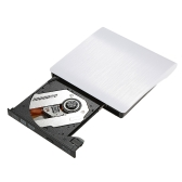 Ultra Slim External Drive USB 3.0 Burner Writer BD-ROM 3D Blu-Ray Player for Linux Windows Mac OS