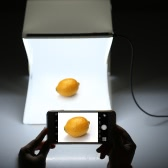 Folding Foldable Portable Mini Photography LED Lightbox Studio for iPhone Samsang LG HTC Smartphone Digital or DSLR Camera