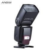 Andoer AD-560Ⅱ Universal Flash Speedlite On-camera Flash GN50 w/ Adjustable LED Fill Light for Canon Nikon Olympus Pentax DSLR Cameras