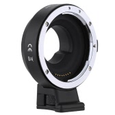 Andoer EF-MFT Electronic Aperture Control Lens Mount Adapter for Canon EF & EF-S to use for Olympus PEN E-P1 P2/3/5 E-PL1 OM-D E-M5 Panasonic LUMIX GH2/3/4 M4/3 Camera