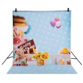 Andoer 1.5 x 2m Photography Background Backdrop Fantasy Christmas Pattern for Children Kids Baby Photo Studio Portrait Shooting