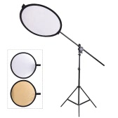 "Andoer Photo Studio 24""/60cm 2in1 Portable Collapsible Disc Reflector Kit"