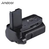 Andoer BG-1H Vertical Battery Grip Compatible with 2 * LP-E10 Battery for Canon EOS 1100D 1200D 1300D / Rebel T3 T5 T6 / kiss X50 X70 DSLR Cameras