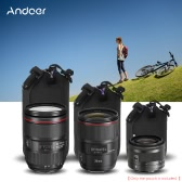"Andoer 4.0 x 3.0"" (10.2 x 7.7cm) Small Size Shockproof Water-resistant DSLR Lens for Canon Nikon Sony 24mm-50mm Lens"