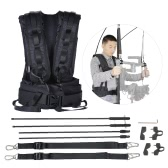 V9 Video DSLR Camera Photography Stabilizer Load Vest Support Kit for DJI Ronin / DJI Ronin-M 3-Axis Handheld Capacity 2kg-6kg
