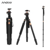 "Andoer TP-968 160cm/63"" Aluminum Alloy Tripod Monopod Unipod w/ 3-way Ballhead Max. Load 15kg for Cannon Nikon Sony Camera"