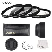 Andoer 49mm Close-up Macro Lens Filter Set with Lens Accessories