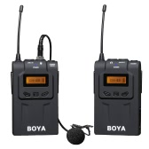 BOYA BY-WM6 UHF Wireless Microphone System for ENG EFP DSLR Cameras & Camcorders