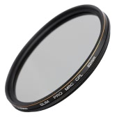CACAGOO 62mm CPL Circular Polarizer Filter Photography Multi-coated Optical Glass Lens Filter for Canon Nikon Sony Pentax DSLR Camera