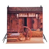 1.5 * 2m Photography Background Backdrop Digital Printing Hallowmas Halloween Pumpkin Graveyard Bat Pattern for Photo Studio