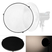 "15.6""/39.5cm Aluminum Alloy 40 Degree Honeycomb Grid for Bowens 41cm/16"" Reflector Diffuser Beauty Dish"