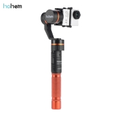 hohem HG3 3 Axis Handheld Stabilizing Gimbal Action Camera Stabilizer 3-Axis 360 Degrees Coverage 5-Way Joystick Control for GoPro Hero3 / 4 for Xiaomi Yi and Similar Demension Sports Cameras