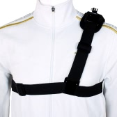 Single Shoulder Strap Mount Chest Harness Belt Adapter for GoPro Hero 1 2 3 3+ 4 Camera