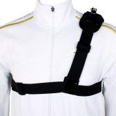 Single Shoulder Strap Mount Chest Harness Belt Adapter for GoPro Hero 1 2 3 3+ 4 Camera