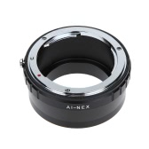 Metal Lens Mount Adapter Ring for Nikon AI F Lens to Sony E NEX Mount NEX3 NEX5N Camera