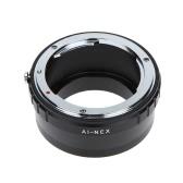 Metal Lens Mount Adapter Ring for Nikon AI F Lens to Sony E NEX Mount NEX3 NEX5N Camera