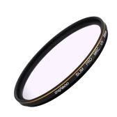 CACAGOO 58mm Pro HD Super Slim MRC UV Filter Germany SCHOTT Glass Waterproof Nano Multi-Coated for Canon Nikon Snoy Pentax DSLR Camera