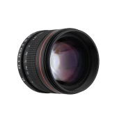 Kelda 85mm F1.8 Manual Focus Portrait Lens for Nikon DSLR Camera