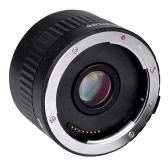 Viltrox C-AF 2X Magnification Teleconverter Extender Auto Focus Mount Lens for Canon EOS EF Lens for Canon EF lens 5D II 7D 1200D 760D 750D DSLR Camera